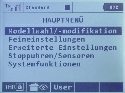 Jeti DUPLEX DS-16 Mode 1/3 RC handzender 2,4 GHz Aantal kanalen: 16 Incl. ontvanger