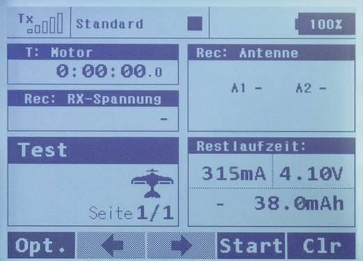 Jeti DUPLEX DC-16 Mode 1/3 RC pultzender 2,4 GHz Aantal kanalen: 16