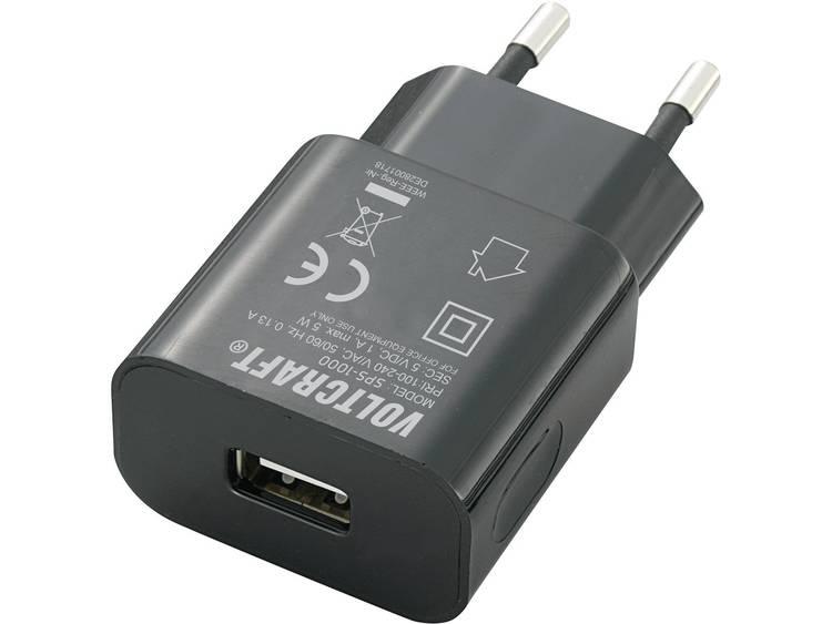 VOLTCRAFT SPS-1000 USB USB-oplader Thuislader Uitgangsstroom (max.) 1000 mA 1 x USB
