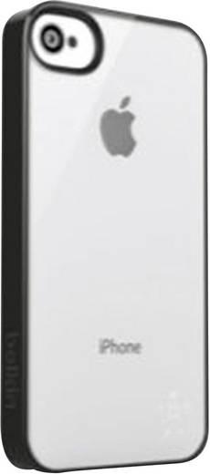 Belkin Candy Case iPhone Backcover Geschikt voor model (GSM's): Apple iPhone 5, Apple iPhone 5S, Apple iPhone SE Zwart, Transparant