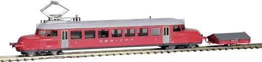 Hobbytrain H2646 N treinstel Re 2/4 207 III Roter Pfeil van de SBB