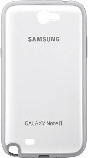 Samsung Protective Cover GSM backcover Geschikt voor model (GSM's): Samsung Galaxy Note 2, Samsung Galaxy Note 2 LTE Wit