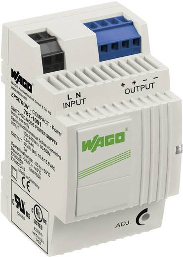 WAGO EPSITRON® COMPACT POWER 787-1001 Din-rail netvoeding 12 V/DC 2 A 24 W 2 x