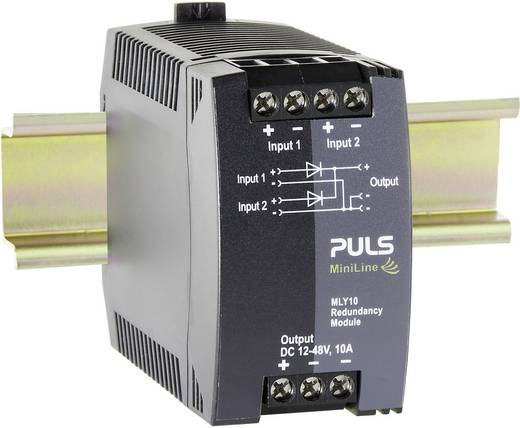 PULS MLY10.241 Din-rail redundantie module 10 A Aantal uitgangen: 1 x