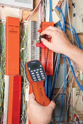 Greenlee TM-700iTesttelefoon DSL-compatibele testtelefoon met LCD, stroom- en spanningsmeting