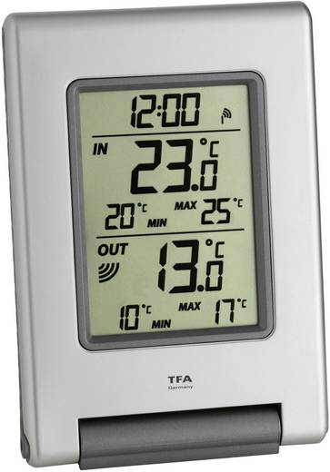 TFA EASY BASE 30.3050.54.IT Thermometer Zilver