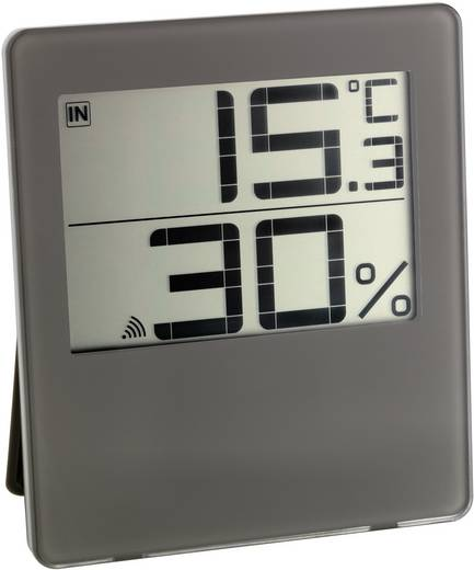 TFA CHILLY 30.3052.08 Draadloze thermo- en hygrometer Bruin
