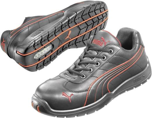 PUMA Safety DAYTONA LOW HRO SRC 642620 Lage veiligheidsschoen S3 Maat: 41 Zwart, Rood 1 paar