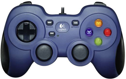 Logitech F310 controller Gamepad PC Blauw