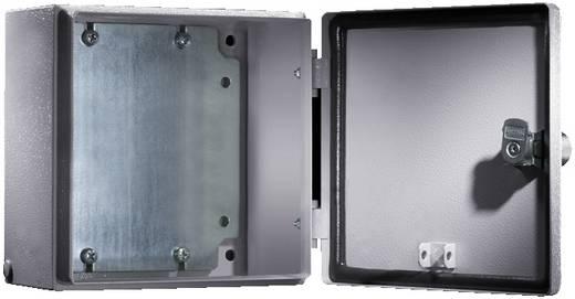 Installatiebehuizing 200 x 200 x 80 Plaatstaal Lichtgrijs (RAL 7035) Rittal EB 1546.500 1 stuks