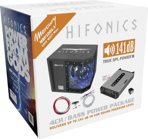 Hifonics MBP1000.4 Car-HiFi-set