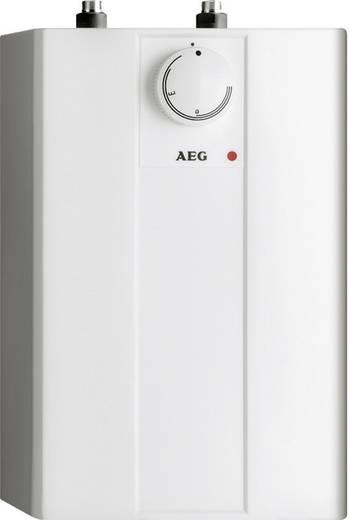 Boiler 5 l 10 l/min 35 tot 85 °C AEG Haustechnik Huz 5 Basis A 229287 met tweegreep temperbatterij