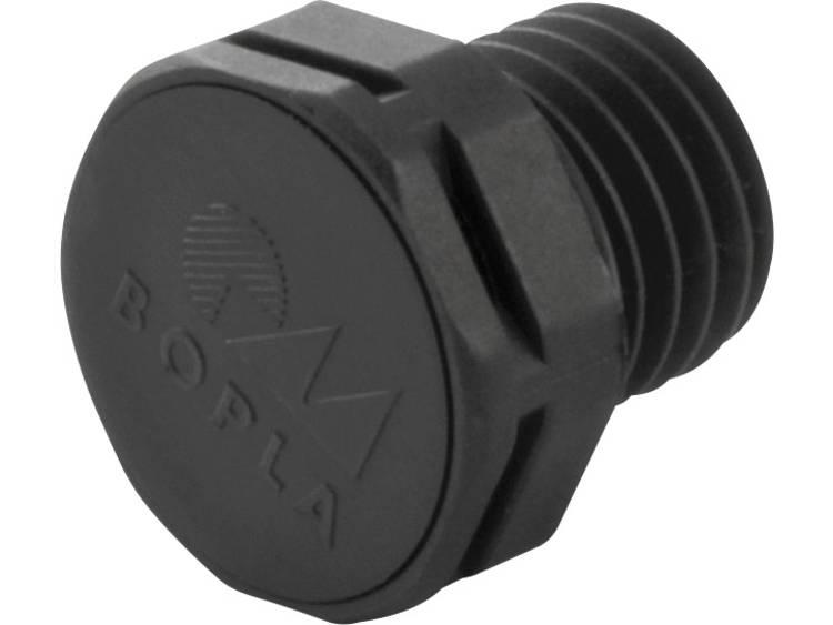 Drukcompensatie element Zwart Bopla DAE M12 5 stuks