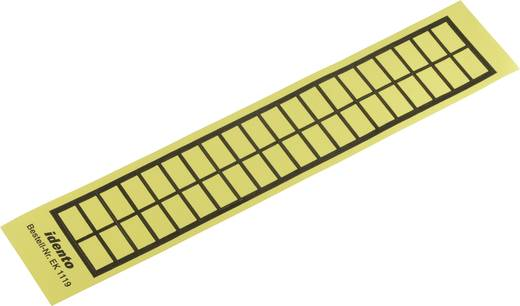 Kabeletiket EK 19 x 11 mm Kleur van het label: Geel