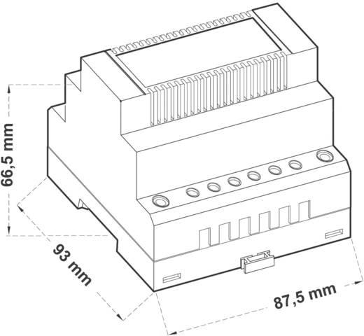 Comatec TBD2 012 24 F4 Din-rail netvoeding 24 V/AC 0.5 A 12 W