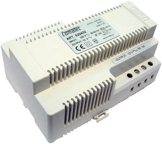 Comatec TBD205012F Din-rail netvoeding 12 V/AC 4.16 A 50 W