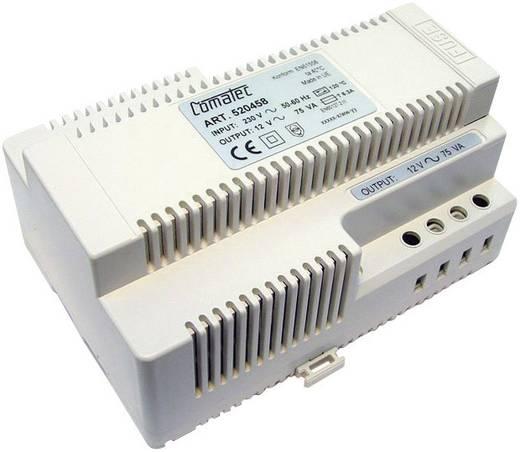 Comatec TBD207512F Din-rail netvoeding 12 V/AC 6.25 A 75 W