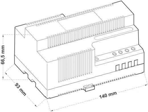 Comatec TBD2/AR.0100.24/E8 Din-rail netvoeding 24 V/DC 1 A 24 W