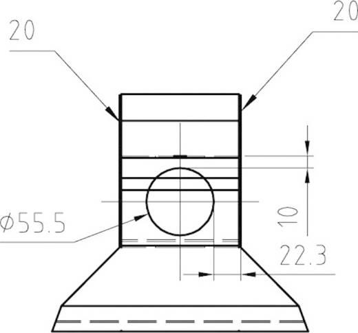 Stromingselement (l x b x h) 240 x 200 x 220 mm FIAP 2676 1 stuks