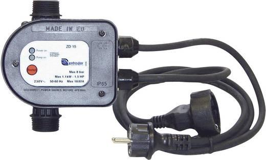 Zehnder Pumpen ZD 15 Waterdrukschakelaar 1.5 tot 2 bar 230 V