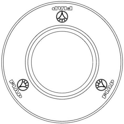 Vijverfiltertoebehoren (Ø x h) 140 mm x 35 mm FIAP 2802