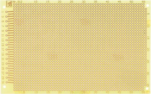 WR Rademacher WR-type 912 Experimenteer printplaat Epoxide (l x b) 160 mm x 100 mm 35 µm Rastermaat 2.54 mm Inhoud 1 st