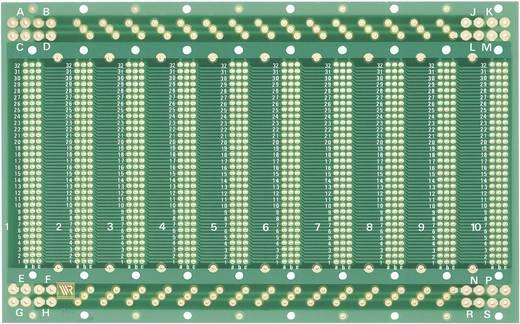 WR Rademacher WR-Typ 940 Printplaat Epoxide (l x b) 203.2 mm x 128 mm 35 µm Rastermaat 2.54 mm Inhoud 1 stuks