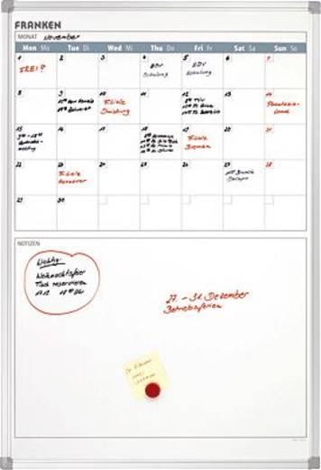 Franken maandkalender met notitieveld/VO-18 90x60 cm