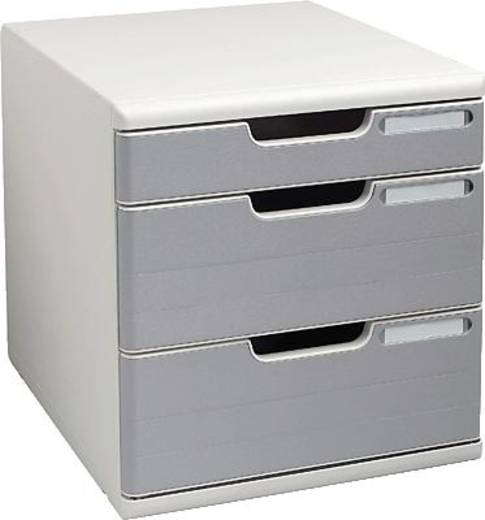 Multiform kantoorboxen Modulo System 2 A4/320041D A4+ lichtgrijs/steengrijs