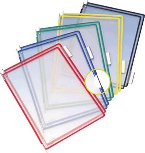 Tarifold zichtborden met draaipennen A4/114009 assorti PVC inh.10