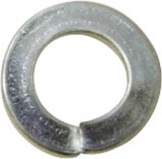 TOOLCRAFT D127-Gew.M2,5 196380 Veerringen Binnendiameter: 2.6 mm M2.5 DIN 127 Verenstaal 100 stuks
