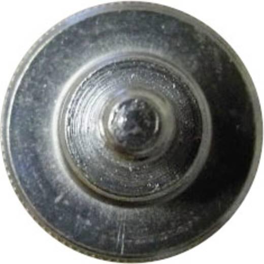 TOOLCRAFT Kartelschroeven M4 10 mm DIN 464 Staal verzinkt 10 stuks