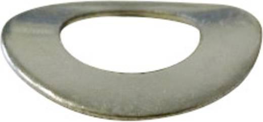 TOOLCRAFT A2 D137-A2 192069 Veerschijven Binnendiameter: 2.2 mm M2 DIN 137 RVS A2 100 stuks