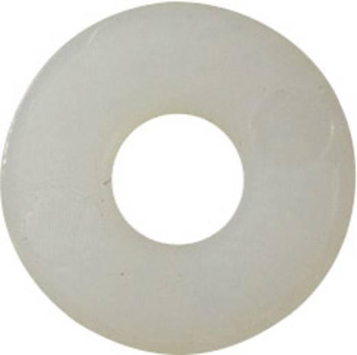 TOOLCRAFT 3,2 D9021 POLY 194730 Onderlegringen Binnendiameter: 3.2 mm M3 DIN 9021 Kunststof 100 stuks