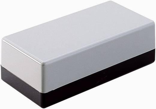Strapubox OBERT:HELLGR./UNTERT:DUNKELGRAU Universele behuizing 129 x 59 x 49 ABS Grijs-zwart 1 stuks