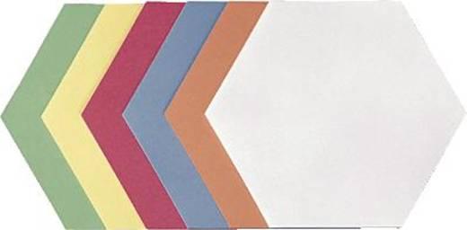 Franken-presentatiekaarten zeshoekig/Umz 1719 99 16,5x19 cm assorti 500 stuks