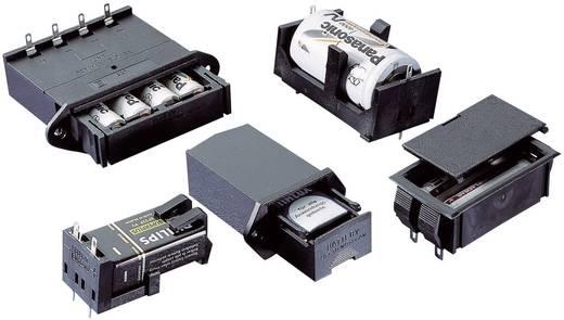 Bopla 46600000 Batterijhouder 4 AA (penlite), 9 V (blok) Soldeeraansluiting (l x b x h) 65 x 65 x 21.5 mm