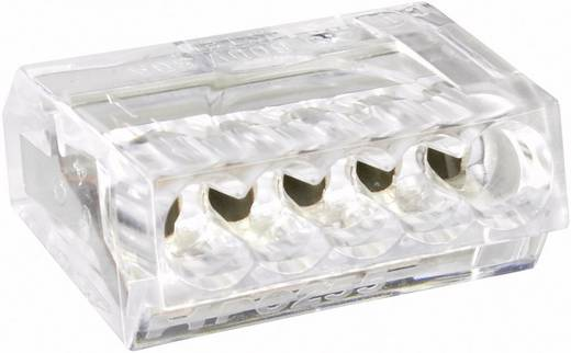 Lasklem Flexibel: - Massief: 0.25-2.5 mm² Aantal polen: 5 1 stuks Transparant