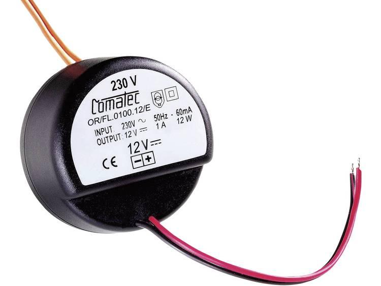 Comatec OR/FL/0100.12/E AC/DC inbouwnetvoeding 12 V/DC 1 A 12 W Open kabeleinden