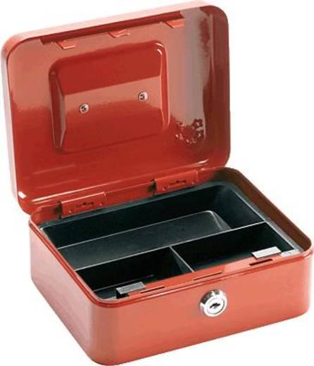 Geldcassette 5Star 918907 (b x h x d) 160 x 90 x 200 mm Rood