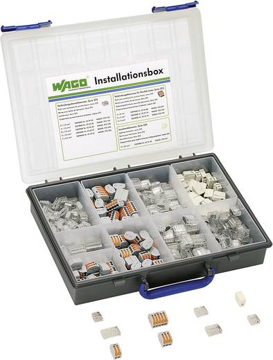 WAGO Verbindingsklem assortiment Flexibel: - Massief: 1.5-4 mm² 260 stuks