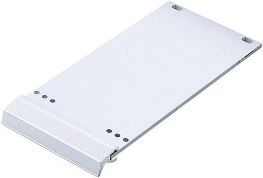 Frontplaat Aluminium Zilver (mat, geëloxeerd) 1 stuks