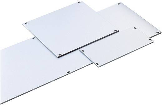 Frontplaat (b x h) 50.5 mm x 128.4 mm Aluminium Zilver (mat, geëloxeerd) 1 stuks