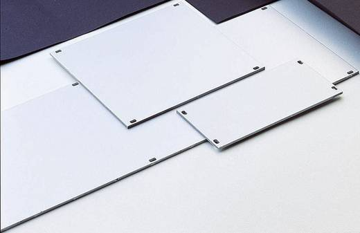 Frontplaat (b x h) 40.3 mm x 128.4 mm Aluminium Zilver (mat, geëloxeerd) 1 stuks