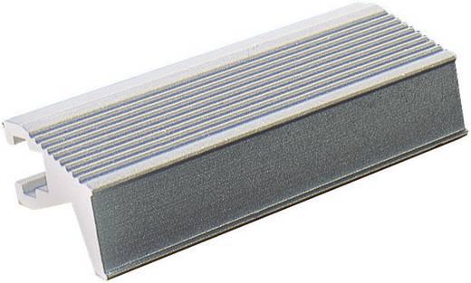 Fischer Elektronik Handgreep Grijs (l x b x h) 60.5 x 14 x 12 mm 1 stuks