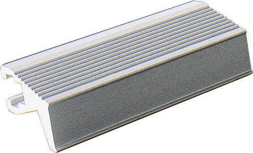 Fischer Elektronik Handgreep Grijs (l x b x h) 101.1 x 14 x 12 mm 1 stuks