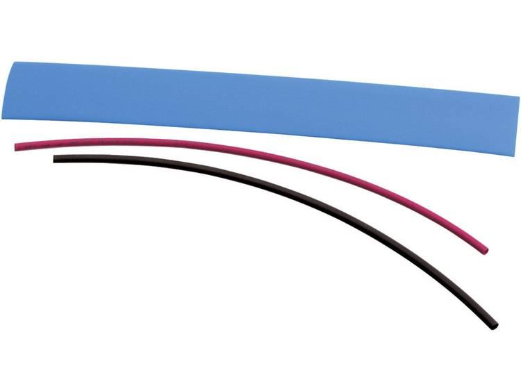 Krimpkousenset 2:1 Ø voor-na krimpen: 19 mm-9.5 mm 1 set Wit
