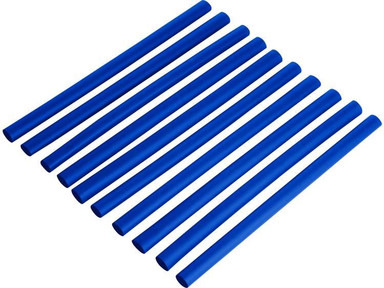 Krimpkousenset 2:1 Ø voor-na krimpen: 3.2 mm-1.6 mm 1 set Blauw