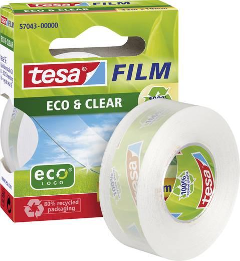 tesa tesafilm Eco & Clear tesafilm Transparant (l x b) 33 m x 19 mm Inhoud: 1 rollen