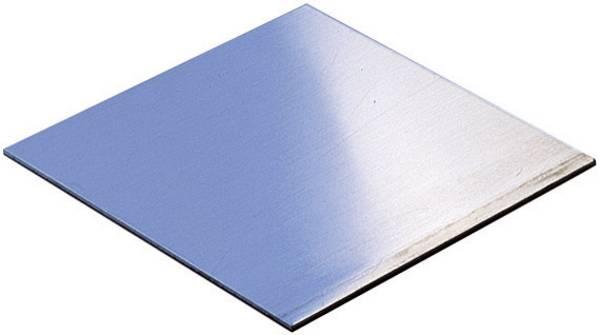 Extreem Montageplaat (l x b x h) 400 x 300 x 2 mm Aluminium Aluminium WR WH07